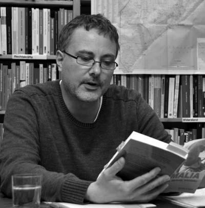 Bei der Lesung in der Hamburger Buchhandlung Osterstraße