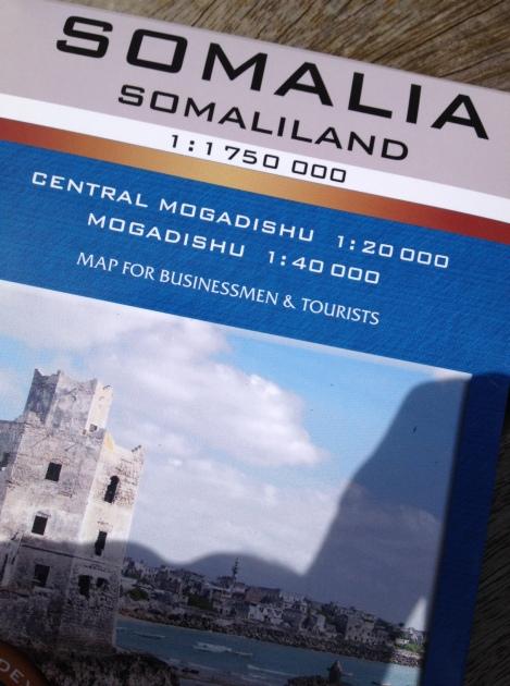 Ernst gemeint: die erste Touristenkarte für Somalia