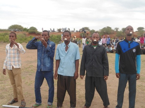 """Fun Day"" der Shabaab in Jilib (Copyright: Tres Thomas)"